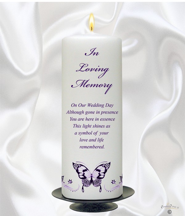 Memorial Candles 7 Heartfelt Wedding Memorial Ideas